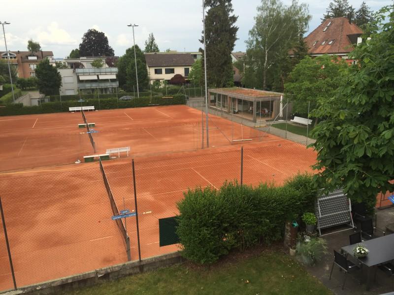Die Tennisanlage des Tennisclub Kreuzlingen